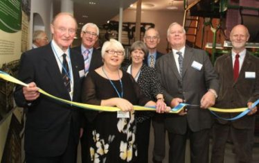Lord Cobham, chair of the Carpet Museum Trust, opens the Museum