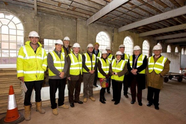 The Carpet Museum Trust visit Stour Vale Mill on the occasion of their 30th anniversary.