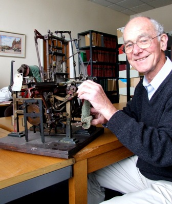 Melvyn Thompson, our museum historian