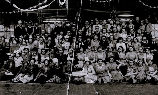 Brintons' Christmas Party 1950