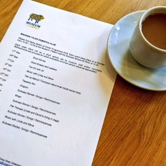Dementia Group Programme and tea