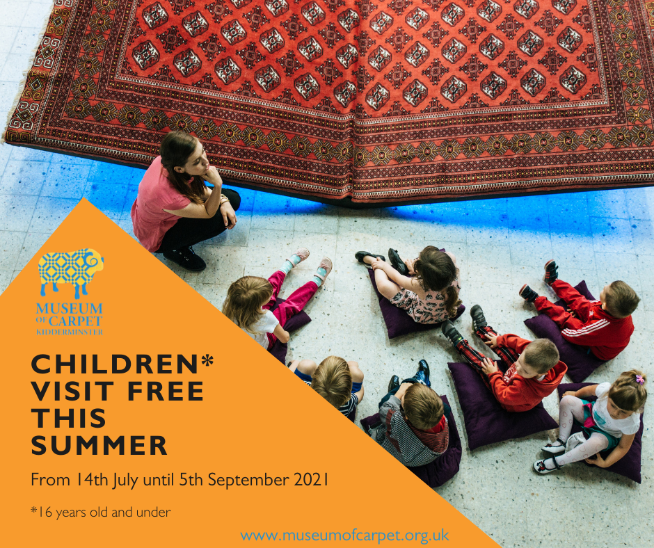 Children can visit the museum for free in the summer of 2021